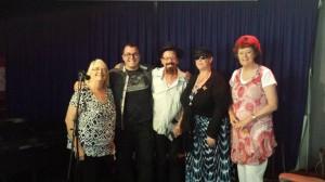 Carol Amos and Collin Gosper (judges) Peter Cartwright, Belinda Curby and Helen McNab