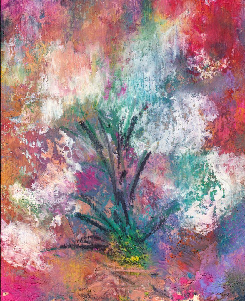 Flowers in Wax